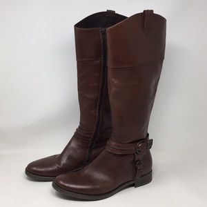 ALDO Brown Leather Boots